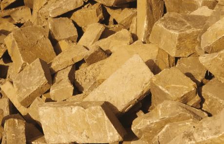 Moellons de pierre de Beauchamps ocre